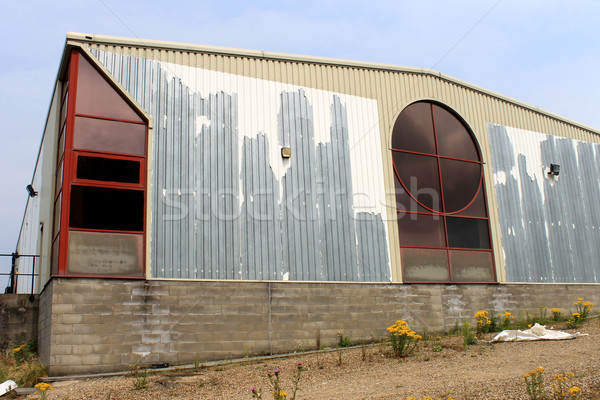 Rundown commercial building Stock photo © speedfighter