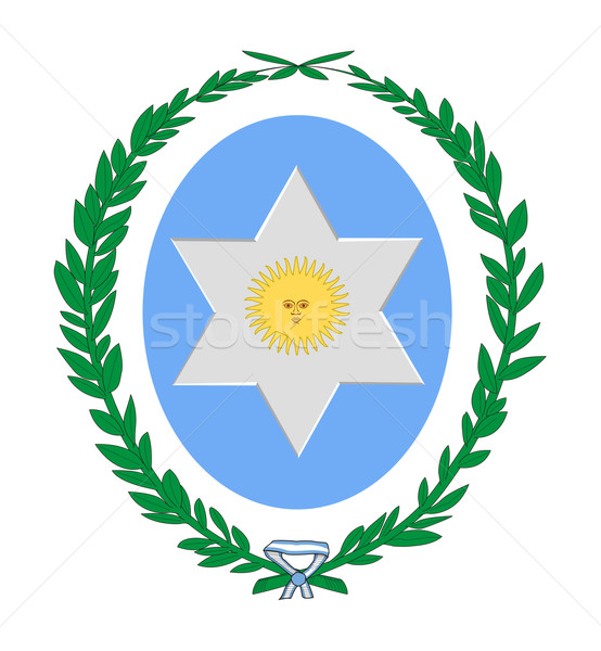 Salta province coat of arms Stock photo © speedfighter