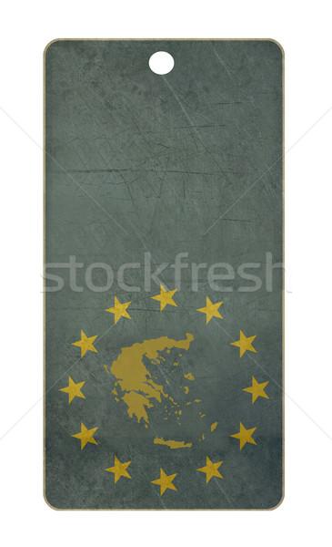 Greece travel tag Stock photo © speedfighter