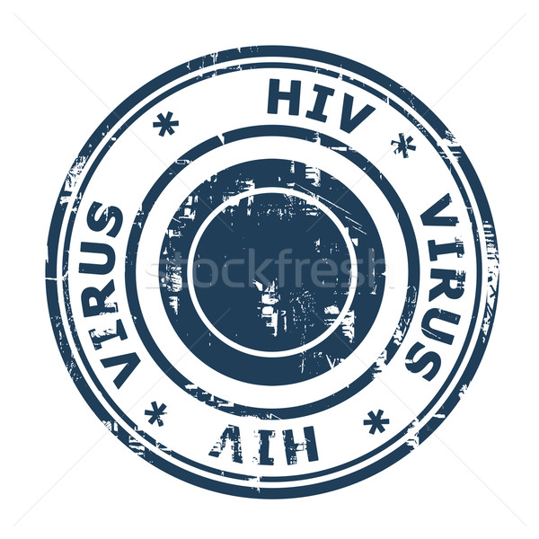 HIV virus Stamp Stock photo © speedfighter