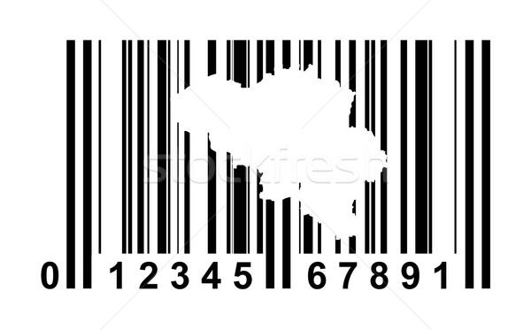 België streepjescode winkelen geïsoleerd witte business Stockfoto © speedfighter