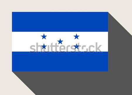 Гондурас флаг веб-дизайна стиль кнопки Сток-фото © speedfighter