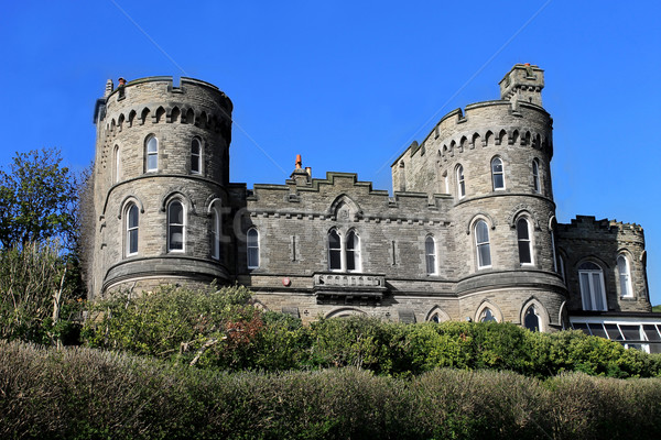 Historic house with castle turrets Stock photo © speedfighter