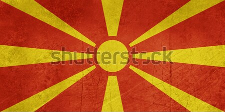 Grunge Macedonia Flag Stock photo © speedfighter
