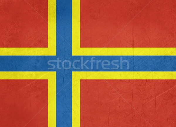 Flag of Orkney Islands Stock photo © speedfighter