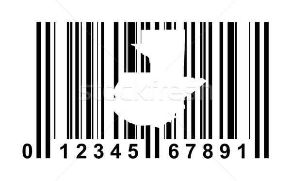 Guatemala streepjescode winkelen geïsoleerd witte reizen Stockfoto © speedfighter