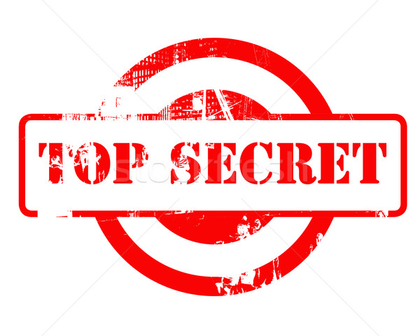 Top Secret red stamp Stock photo © speedfighter
