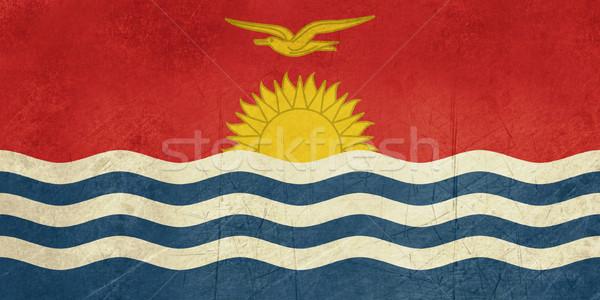 Grunge Kiribati flag Stock photo © speedfighter