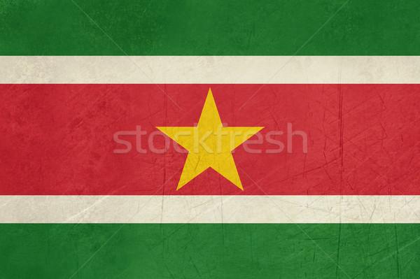 Grunge Suriname Flag Stock photo © speedfighter
