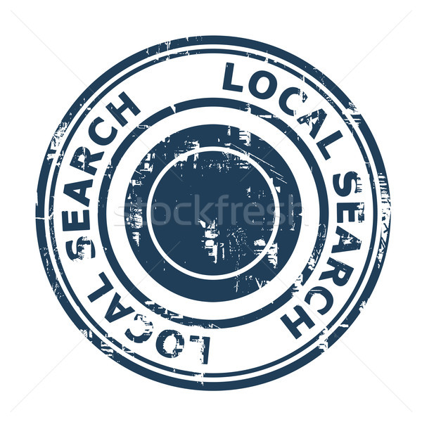 Local search SEO concept stamp Stock photo © speedfighter