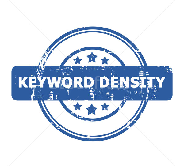 Keyword Density Stamp Stock photo © speedfighter