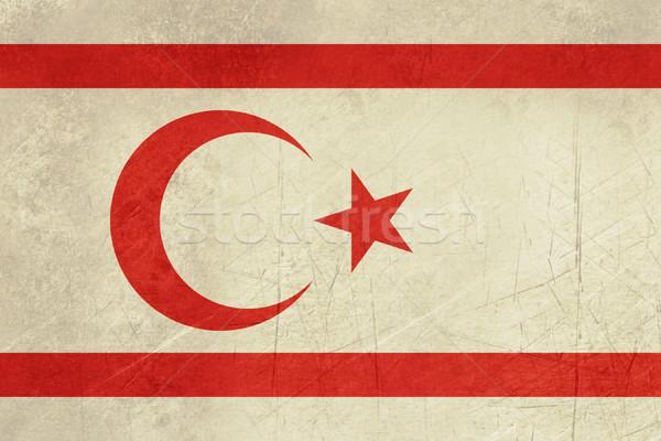 Grunge Turkish Republic of Northerm Cyprus Stock photo © speedfighter