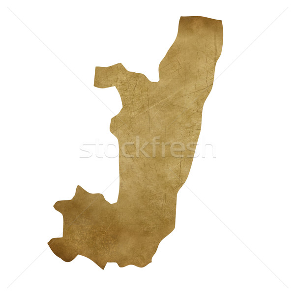Конго Гранж Карта сокровищ карта сокровище стиль Сток-фото © speedfighter