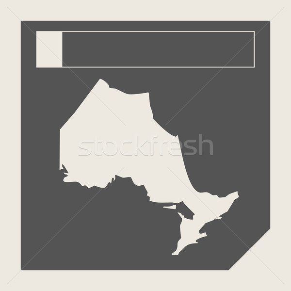 Ontario state in Canada Stock photo © speedfighter