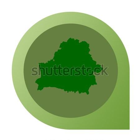 Isolated Luxembourg map marker pin Stock photo © speedfighter