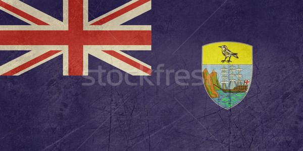Grunge Saint Helena Flag Stock photo © speedfighter