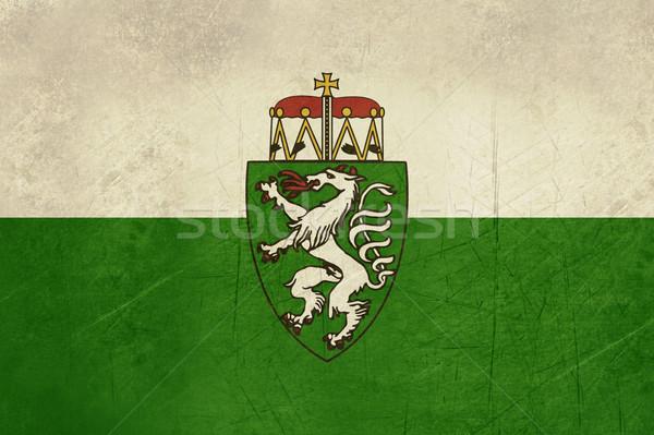 Grunge Steiermark or Styria state flag in Austria Stock photo © speedfighter