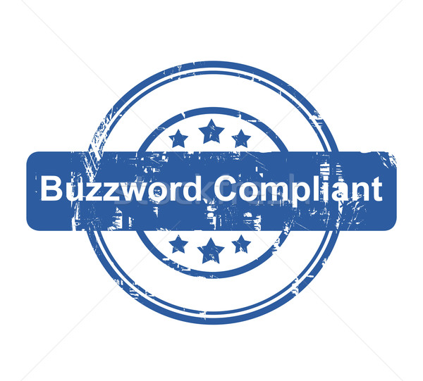 Buzzword Compliant business concept stamp Stock photo © speedfighter