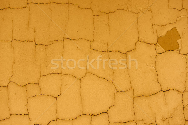 Brown cracked wall surface Stock photo © Sportactive