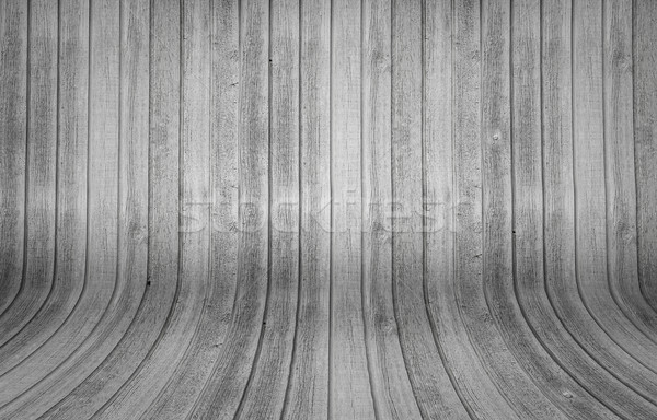Wood background with curvy planks Stock photo © Sportactive