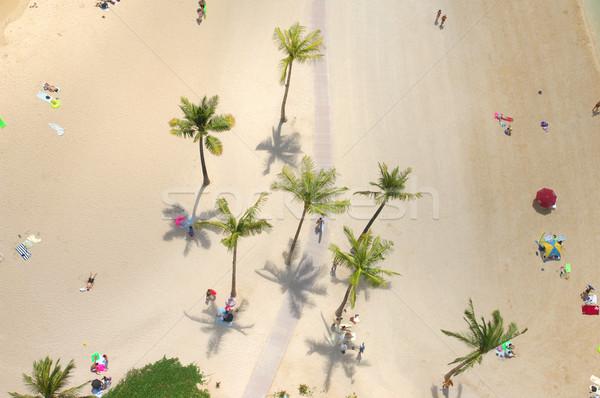 Persone rilassante resort Foto d'archivio © Sportlibrary
