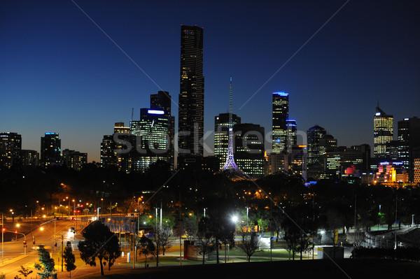 Nighttime Cityscape Stock photo © Sportlibrary