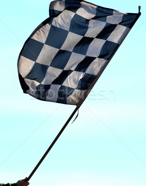 checkered flag Stock photo © Sportlibrary