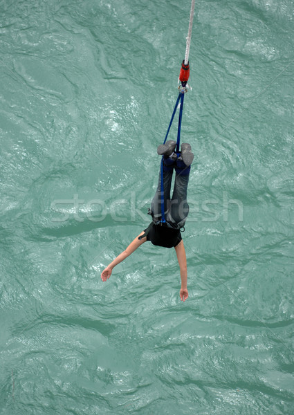 Bungy woman Stock photo © Sportlibrary