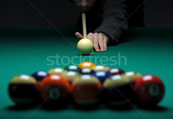 Piscina tavola giocare Foto d'archivio © Sportlibrary