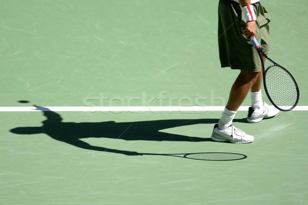 Tennis ombra maschio scarpe Foto d'archivio © Sportlibrary