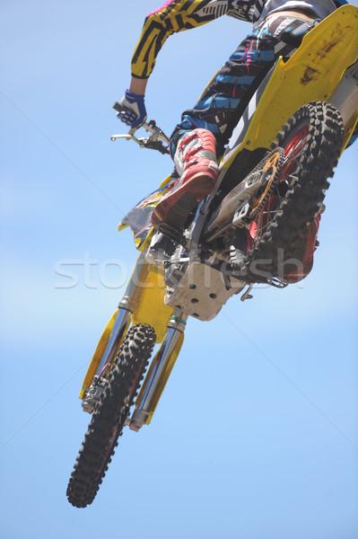 Motorbike Rider Stock photo © Sportlibrary