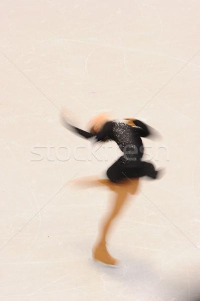 Femminile sport sport ghiaccio divertimento esercizio Foto d'archivio © Sportlibrary