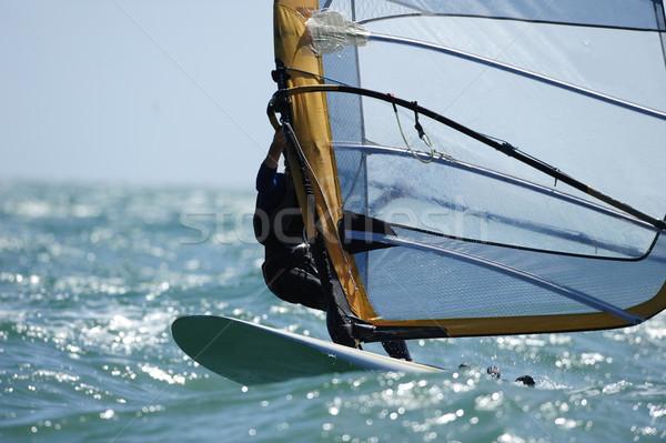 Ocean acqua mare blu velocità persona Foto d'archivio © Sportlibrary