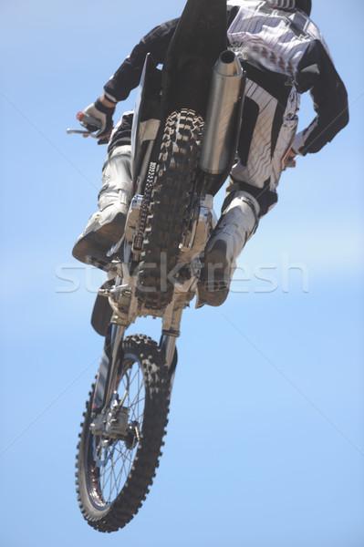 Moto moto aria cielo sport Vai Foto d'archivio © Sportlibrary