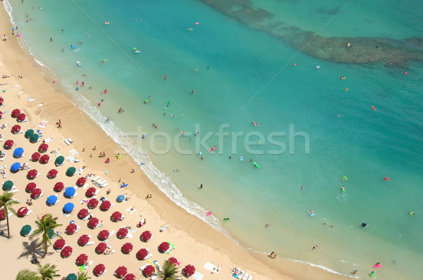 Resort vita uccelli occhi view vacanze Foto d'archivio © Sportlibrary