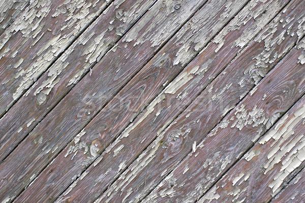 Viharvert fa textúra ajtó háttér minta Stock fotó © sqback