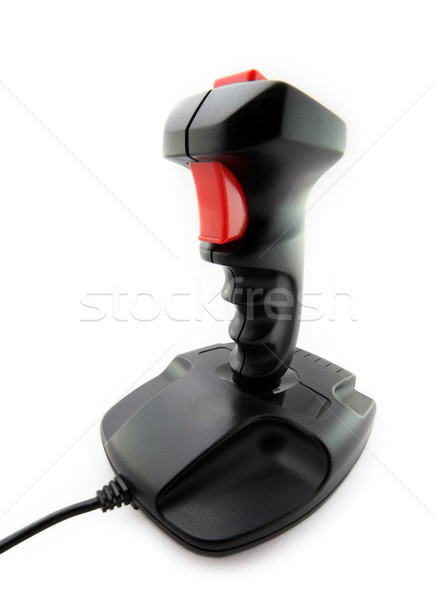 Classic joystick on white background Stock photo © sqback