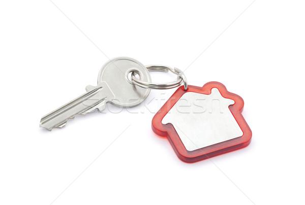 Casa chave edifício construção metal Foto stock © sqback