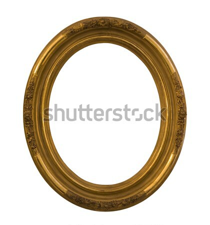 Round frame with clipping path Stock photo © sqback