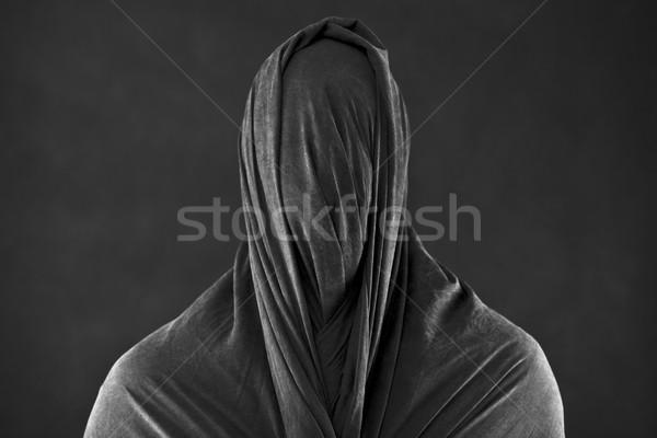Fantôme sombre silhouette morts peur diable Photo stock © sqback