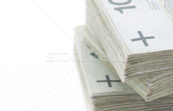 Para finanse banka nakit dikkat fatura Stok fotoğraf © sqback