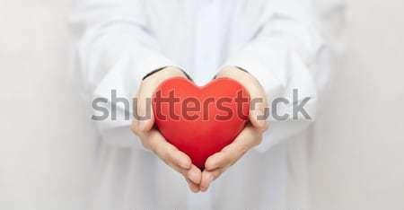 Health insurance or love concept  Stock photo © sqback