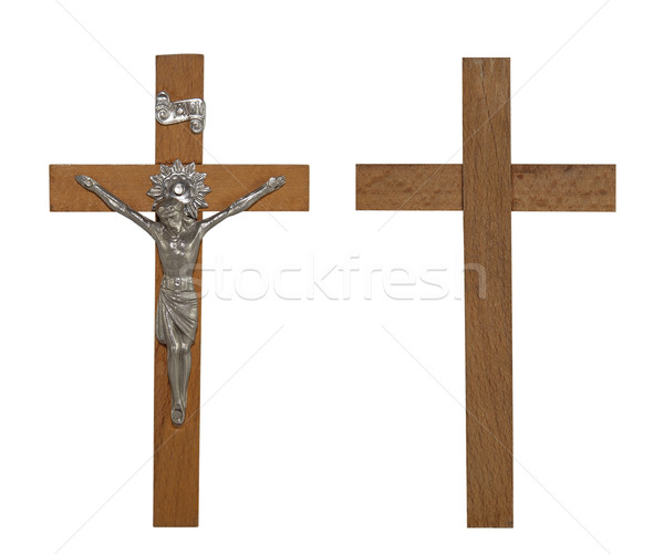 Crucifix with clipping path Stock photo © sqback
