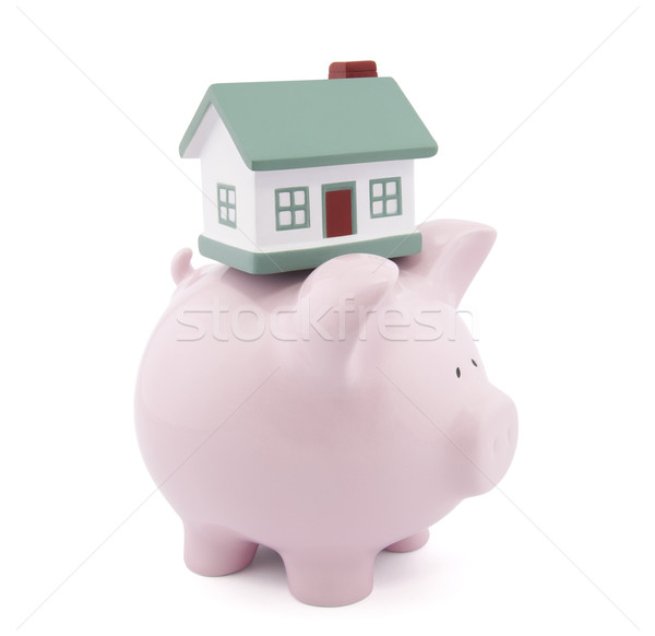 Home finances. Clipping path included Stock photo © sqback
