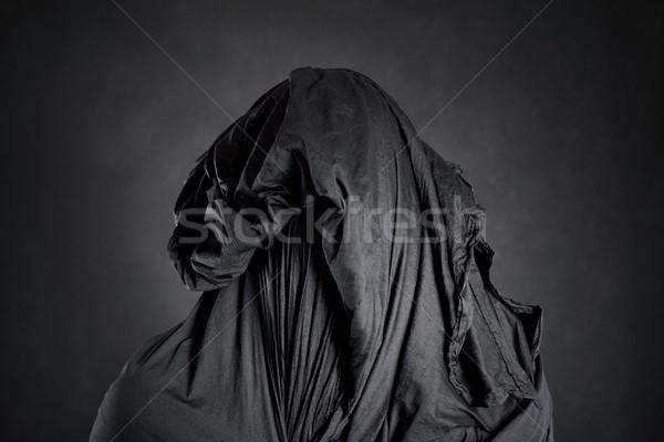 Ghostly figure in the dark  Stock photo © sqback