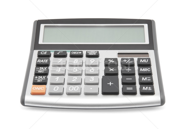 Calculator with clipping path Stock photo © sqback