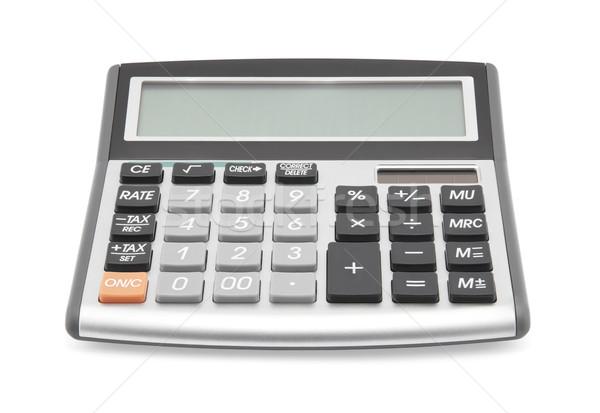 Hesap makinesi iş ofis siyah sayılar Stok fotoğraf © sqback
