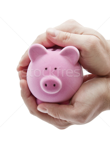 Protect your money. Clipping path included. Stock photo © sqback