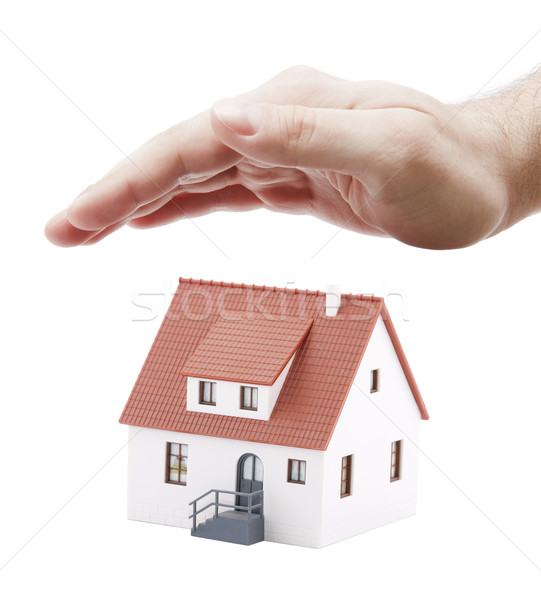 Protect Your House Stock photo © sqback