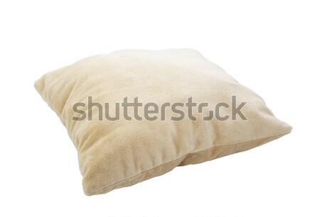 Almohada aislado blanco tejido limpio Foto stock © sqback